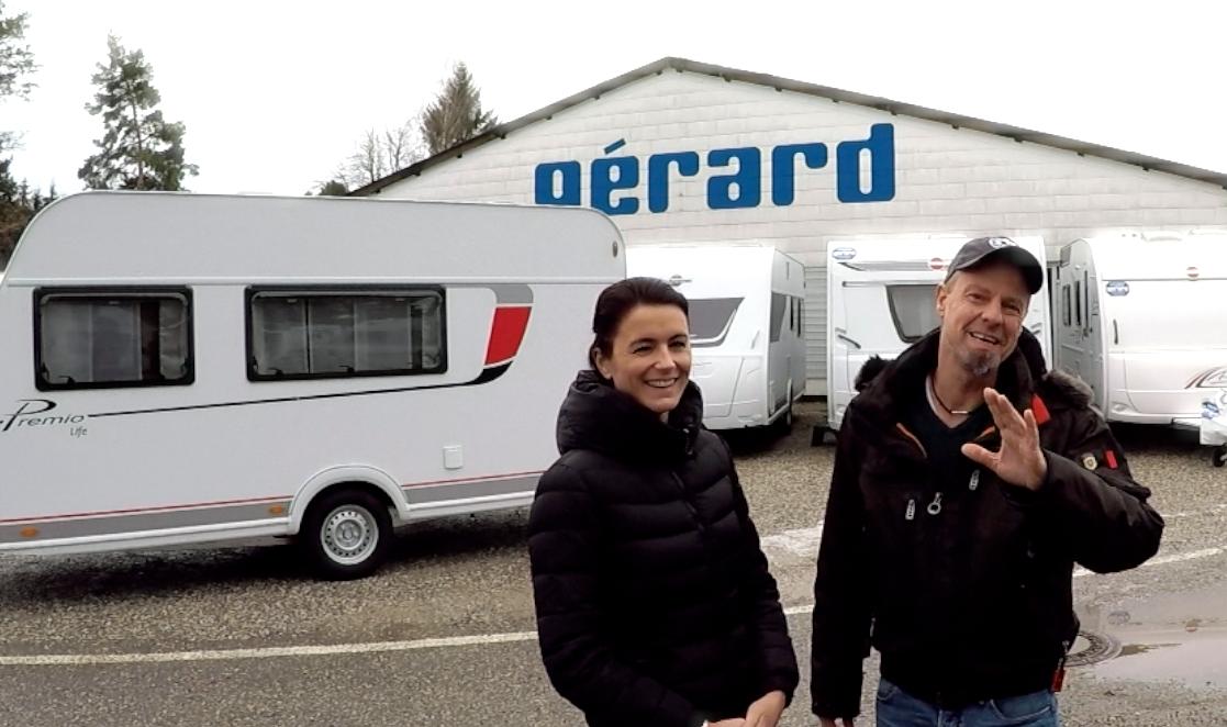 Nun kommen die wahren Experten – Wohnwagen Gérard