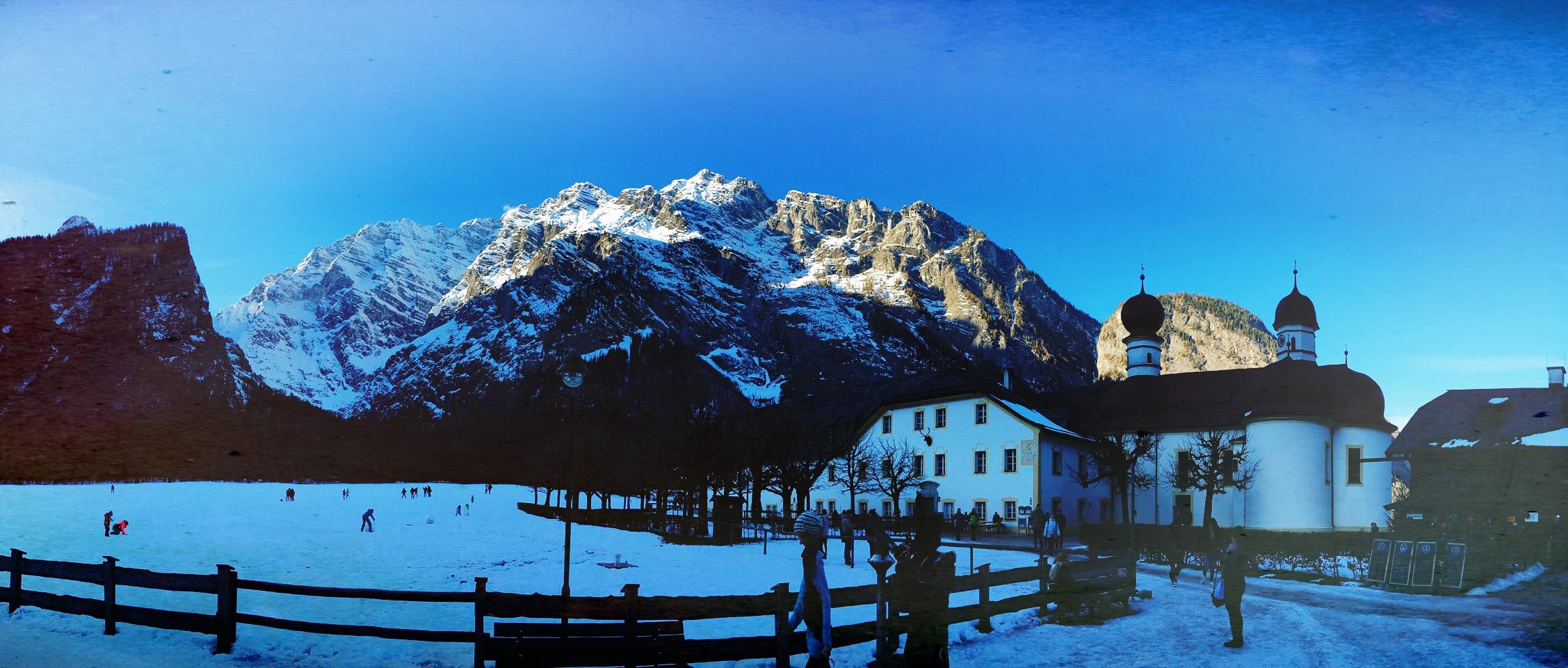 Silvester Trip zum Campingplatz Allweglehen / Berchtesgaden