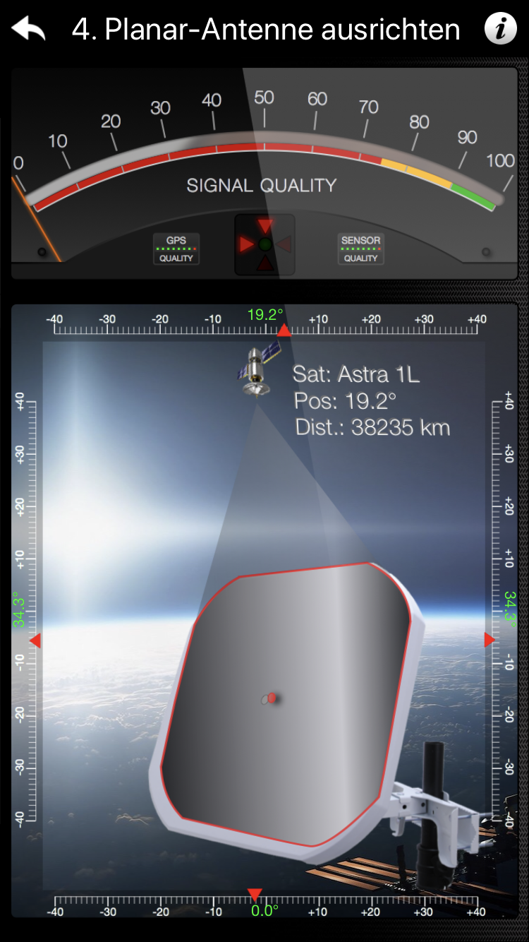 Satellitenschussel Ausrichten Einfach Per App Wir Haben Getestet