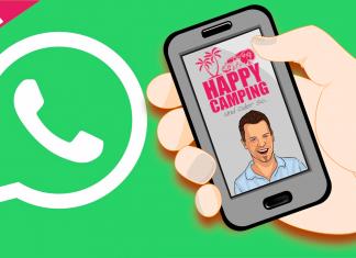 Happy Camping jetzt auch bei WhatsApp