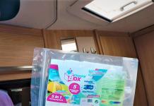 Wohnwagen Interieur reinigen - mit der CleaningBox