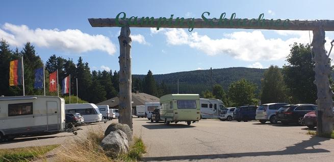 Campingplatz Schluchsee im Schwarzwald