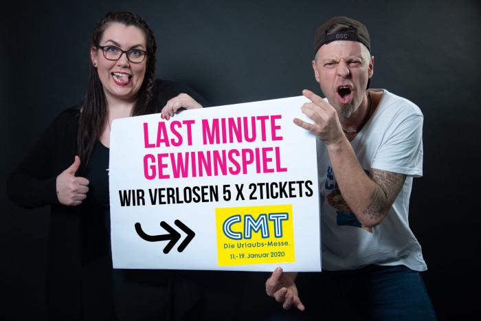 Gewinne 5 x 2 Tickets für die CMT 2020 in Stuttgart